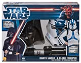 Star Wars Darth Vader And Clone Trooper Costume Set