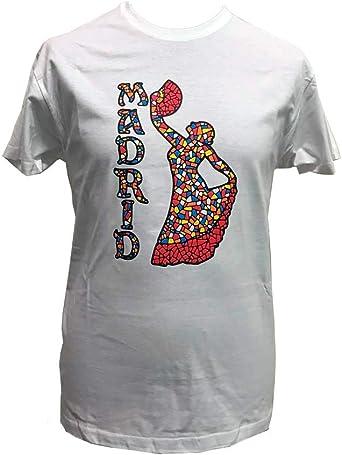 ZiNGS Camiseta Bailaora Flamenca Mosaico Adulto: Amazon.es: Ropa y accesorios