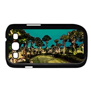 Golfing Course, Texas Watercolor style Cover Samsung Galaxy S3 I9300 Case (Texas Watercolor style Cover Samsung Galaxy S3 I9300 Case)