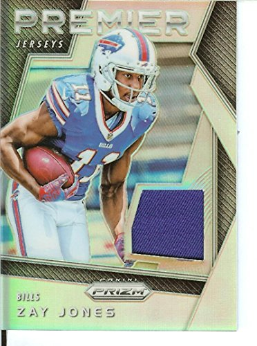 Prizm 2017 Premier Jerseys #26 Zay Jones MEM Bills