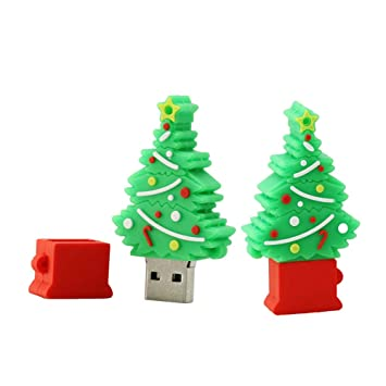 Amazon.com: Disco flash USB 2.0 con forma de árbol de ...