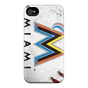 DannyLCHEUNG Iphone 6 Scratch Resistant Hard Phone Case Customized Colorful Miami Marlins Pictures [QPF10017hgsd]
