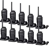 Retevis RT27 Walkie Talkies Rechargeable Long Range for Adults Anti-Interference Security Heavy Duty