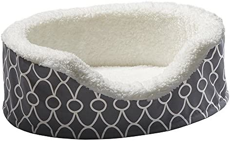 MidWest Homes for Pets Orthoperdic Egg-Crate Nesting Pet Bed w Teflon Fabric Protector