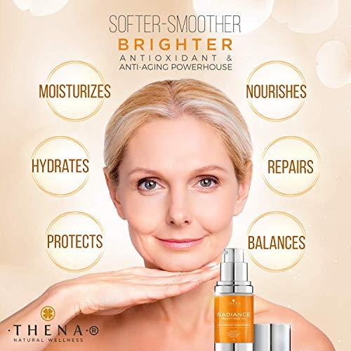 51P6q8H2e1L - Anti aging Face Oil Serum With Vitamin C & E Hyaluronic Acid Jojoba Argan Rosehip Essential Oils, Organic Natural Facial Moisturizer Lotion Best Beauty Product For Dry Sensitive Skin Care Women Men