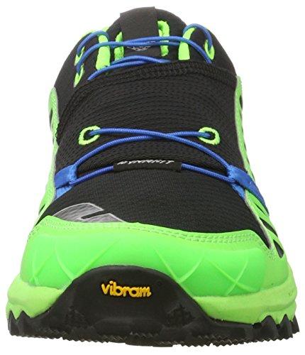 Dynafit Alpine Pro, Zapatillas de Running para Asfalto para Hombre Multicolor (Sparta Blue/cactus)