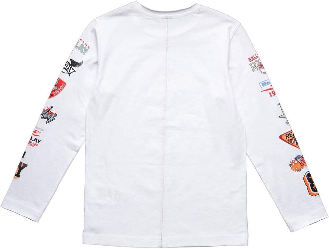 Replay T-Shirt /À Manches Longues Gar/çon