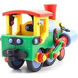 Mic O Mic - 89070 - Jeu de construction - Locomotive - 10.5 cm