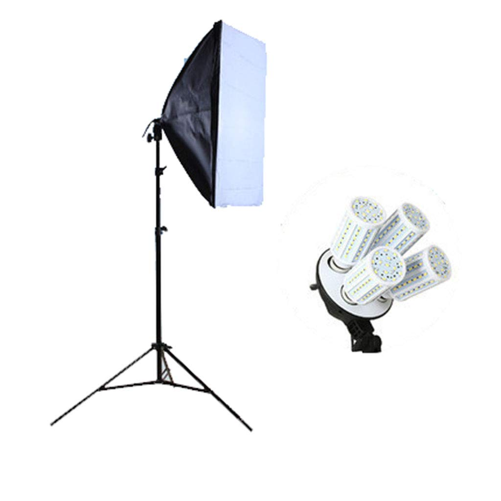 Mariny- 多機能写真機器4ランプホルダーポータブルソフトボックスブラケットいっぱいライトフォトボックス用家族  Containing light bulb B07MX4D3QJ