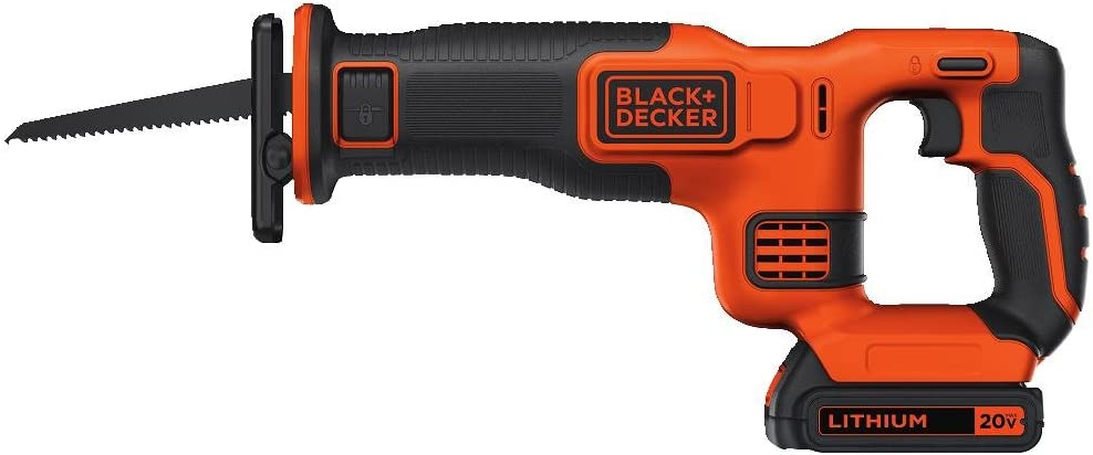BLACK DECKER BDCR20C 20V MAX Reciprocating Saw with Battery and Charger