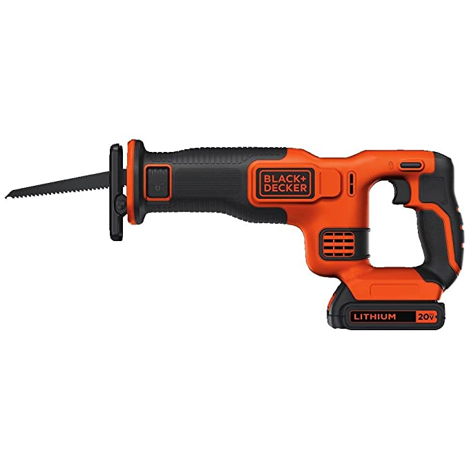 Best Reciprocating Saw: BLACK+DECKER BDCR20C
