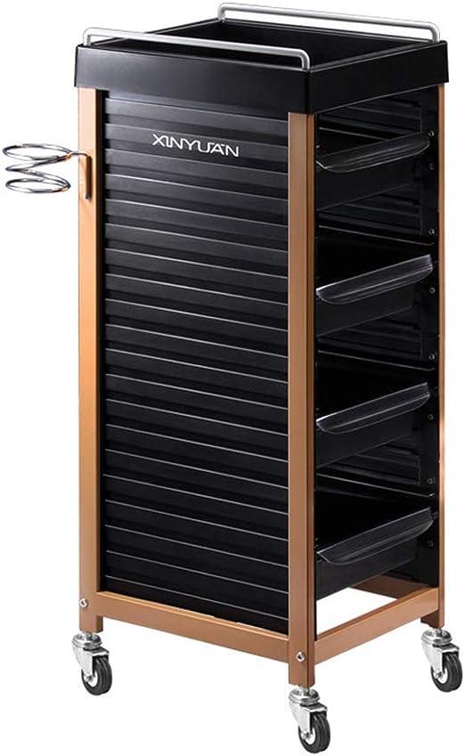 JYSEJ Aspirador uñas, Beauty Barber Rolling Storage Cart Salon ...
