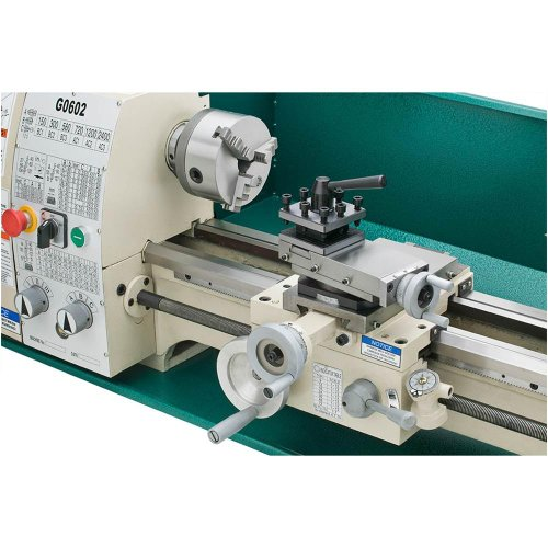 Grizzly G0602 Bench Top Metal Lathe 10 X 22 Inch Import It All