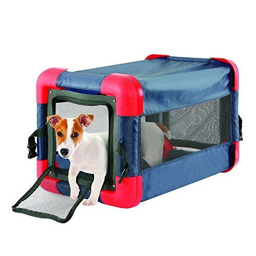 Pop Up Dog Crate for Small Dogs - Collapsible When Not in Use