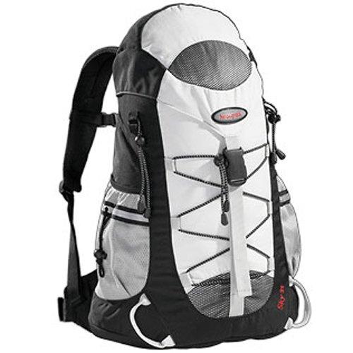 AspenSport Rucksack Sky, weiß/schwarz, 35 x 35 x 18 cm, 35 Liter, AB03J02