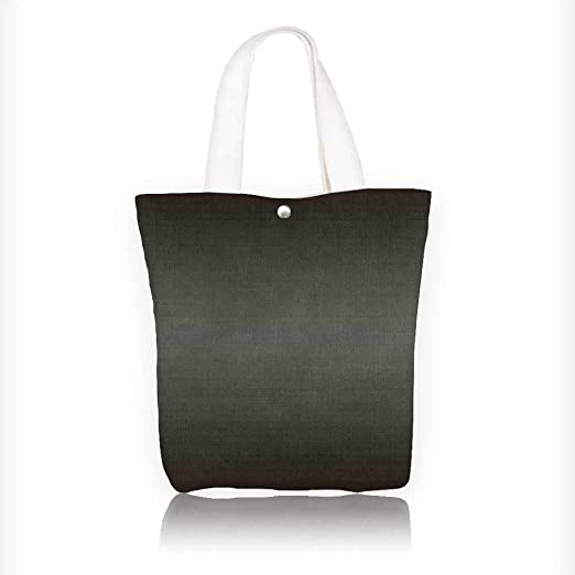 Bolsa de lona con cremallera impresa en chocolate y crema, diseño de colores, reutilizable, con cremallera, bolsa de 100% algodón impresa (ancho x alto x profundidad): Amazon.es: Hogar
