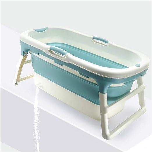 LYM & bañera Plegable Bañera Plegable Hogar Adulto Plástico de ...