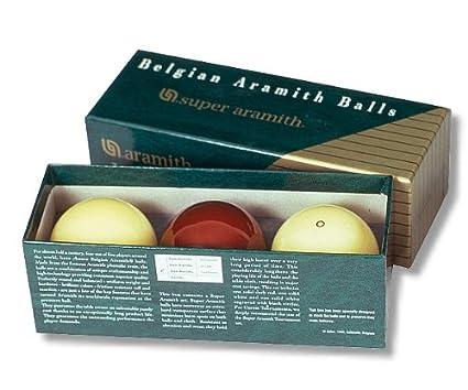 Gamepoint SUPER-ARAMITH 61,5 mm Set de carambola - Bolas: Amazon ...
