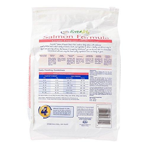 PureVita GF Salmon and Pea Food for Dogs 5 Lb ()