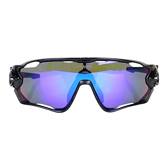 Amazon.com: PHMAX Polarized UV Protection cycling glasses With 5 Lenses: Clothing