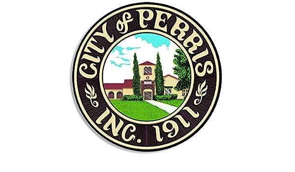 City of Perris Seal Sticker (decal logo california riverside ca ...
