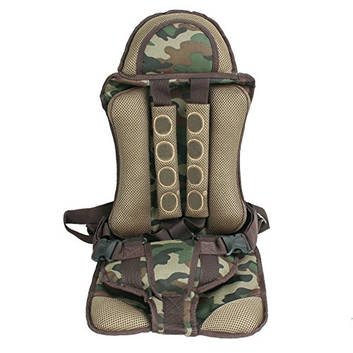 1123c9c1c8d portable Baby Car Seats Child safety car seat infant baby Protect Cover for  children Auto harness carrier (Green) - Buy Online in UAE.