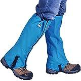 AOTU Tsonmall Hiking Gaiters Waterproof Breathable Snow Gaiters Leg for Men Womens Walking Climbing Hunting