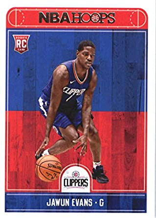 479df661006 2017-18 NBA Hoops #289 Jawun Evans Los Angeles Clippers RC Rookie Basketball  Card