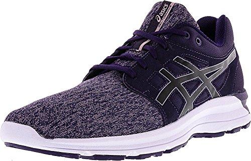 ASICS Women's Torrance Running Shoe, Mysterioso/Black/Aluminum, 11 Medium US
