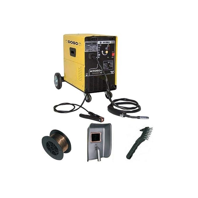 Estación de soldadura MIG MAG Mog - dogomig 205 - Gas no gas: Amazon.es: Bricolaje y herramientas