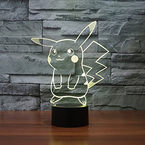3D Pokemon Glow Lamps