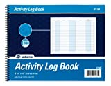 Adams Activity Log Book, Spiral Bound, 8.5 x 11 Inches, 100 Pages, White (S1185ABF) Size: 1 - Pack Style: White, Model:S1185ABF, Office Accessories & Supply Shop