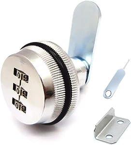 3-Digit Combination Mailbox Lock 7/8