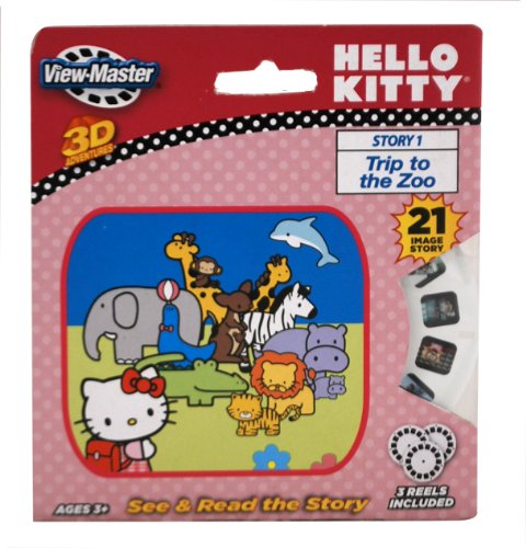 Basic Fun ViewMaster Hello Kitty 3 Reel Set