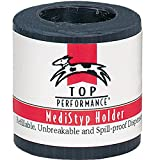 Top Performance  MediStyp Holder — Durable Holder for Dispensing Styptic Powder for Dogs and Cats, Black