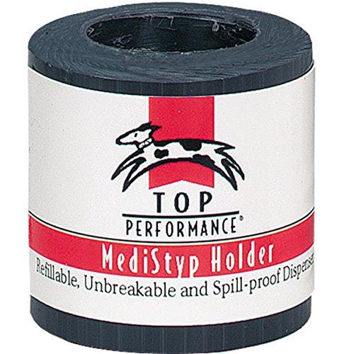 Top Performance  MediStyp Holder - Durable Holder for Dispensing Styptic Powder for Dogs and Cats, Black