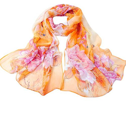 DEESEE Scarf Womens Chiffon Scarves product image