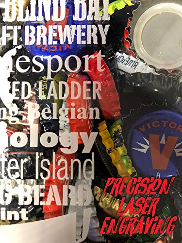 IPA Lot When I Drink Bottle Cap Shadow Box, Mens Gift Ideas, Fathers Day Gift by The Hoppy Store (Image #2)
