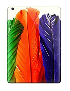 Protection Cases For Ipad Air / Cases Covers For Ipad(colorful Feathers)