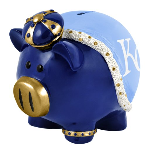 Mlb Kansas City Royals Resin Large Thematic Piggy Bank