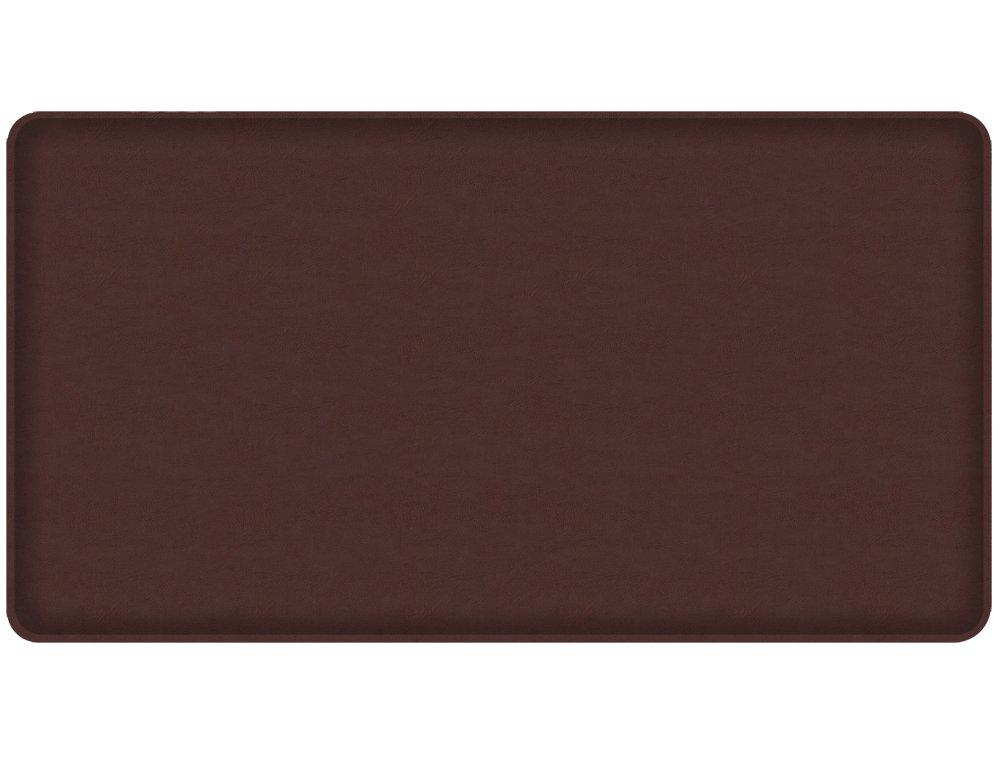 Gelpro Plush Floor Mat, 20x36, Vintage Leather Mushroom 105-28-2036-5