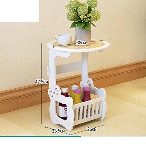 Simple modern bedside table,European simple locker,White bedroom cabinet Mini bedside table cabinet-C by FJIWDTGYHFGT