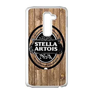 Special Design Cases LG G2 Cell Phone Case White Stella Artois Qsmvp Durable Rubber Cover