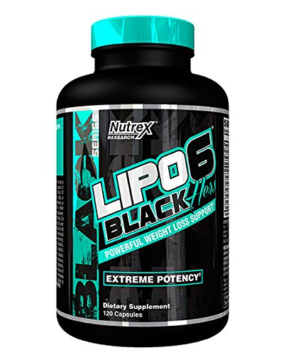 """Nutrex LIPO 6 Black""""Hers"""" *for Women* Extreme Potency Fat Burner/Destroyer 120 caps Diet & Weight Loss Support *New DMAA-Free Legal Version Lipo6*"""