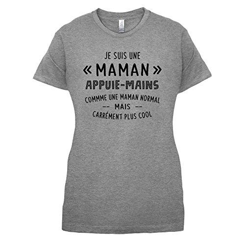 une maman normal appuie mains - Femme T-Shirt - Gris - XXL