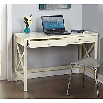 Simple Living Anderson X Writing Computer home Office Desk