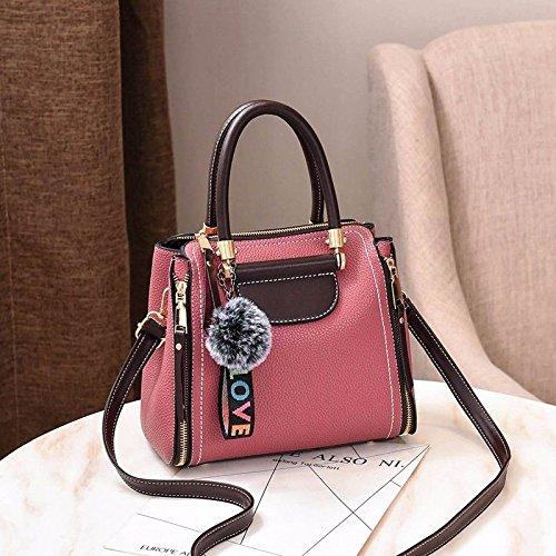 Amarillo Bolsa Bolso Regalos de y Nuevo Pink de Costuras MSZYZ Navidad Bolsa Hombro q8PxW1