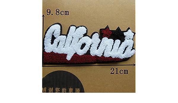 fairyteller seleccione toalla de letra para coser bordado de tela parches para ropa DIY accesorios Sew On apliques c282-c370: Amazon.es: Juguetes y juegos