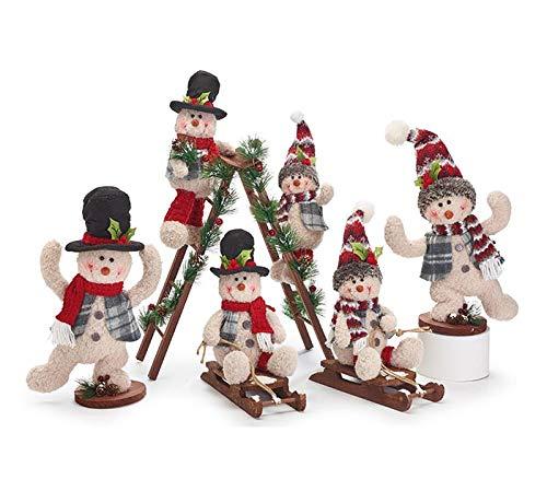 burton+BURTON Playful Snowman Family