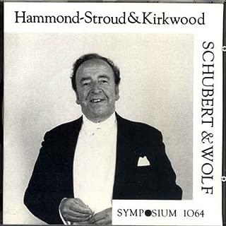 product image for Derek Hammond-Stroud Sings Lieder by Schubert & Wolf